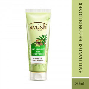 LEVER Ayush Anti Dandruff Neem Conditioner 80 ml For Dandruff Free Hair Available