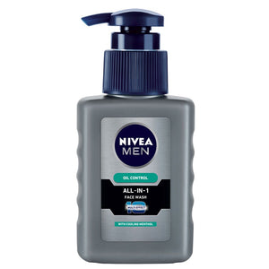 Nivea Men Oil Control All In One Pump Face Wash For Men-65ml and 150ml