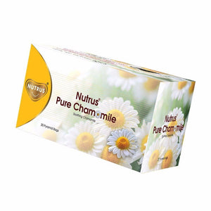 100% Pure & Natural Nutrus Chamomile Tea Bags- 20 sachets Healthcare