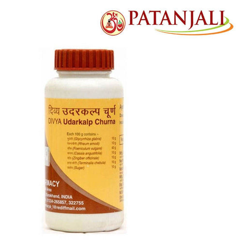 Pure Natural Patanjali Divya Udarkalp Churna (Powder) - 100Gm Good For Health