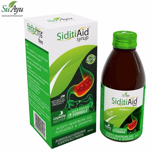 100% Natural SuAyu Siditi Aid Syrup For Gas and Acidity Available
