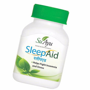 100% SuAyu SleepAid Capsules Helps Fight Insomnia,Stress 30 Capsules