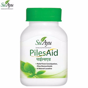 100% Natural SuAyu PilesAid Capsules Helpful In Piles
