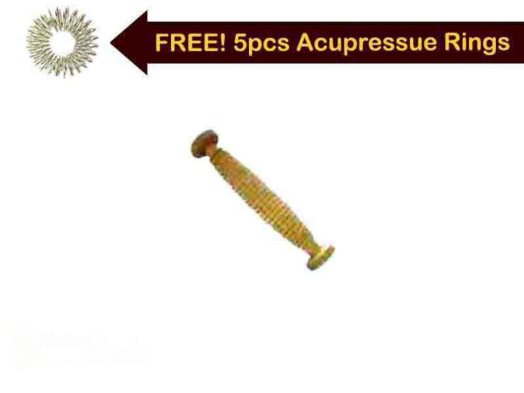 Acupressure Reflexology Wooden Foot Roller Massager