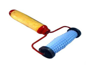 Acupressure Face Roller Massager Plastic / Wood