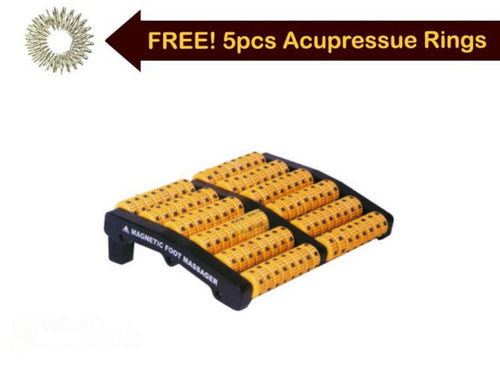 Therapy Acu. Roller Pyramidal Improved Stress Relief  Foot Massager Magnetic