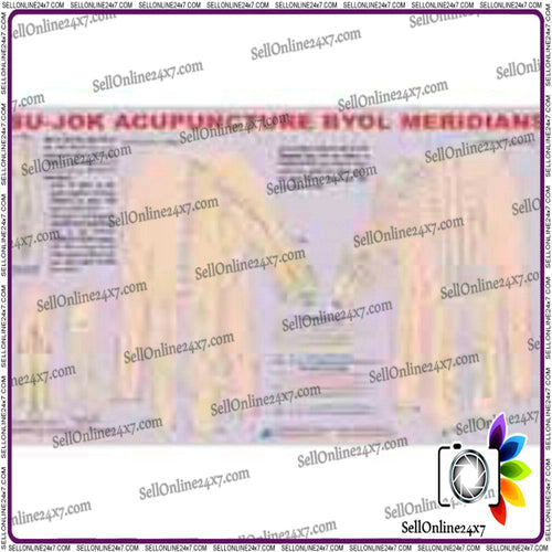 Academics,Teaching,Educational Purposes Acupuncture Byol Meridian Sujok Chart