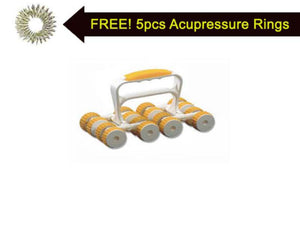 New Acupressure Therapy Power Roller Massager Maintaining Body Therapy