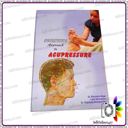 Textbook Acupressure by Smt Lata Shree & Bage Self Healing Therapy