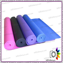 Anti Slip Yoga Mat Gym Exercise Mat Protected with Microban 68 x 24 Inches 3mm
