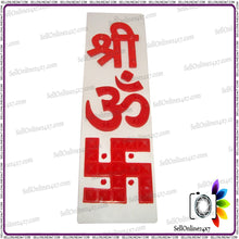 Shree OM (AUM) Swastik (Swastika) Pyramid Kills Negative Energy