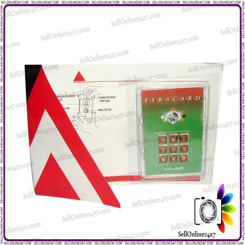 Pocket Size Pyramid Card - Pyramid Yantra - For Wealth and  Prosperity
