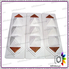 Pyramid Strip Innovative Effective Tool-Vastu & Feng Shui Corrections-3 Pcs