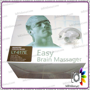Electric Head Massager Brain Massage Relax Easy Acupuncture Points Therapy