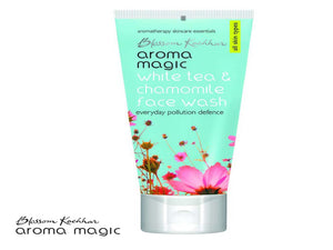 Aroma Magic White Tea And Chamomile Face Wash For All Skin Types - 100ml