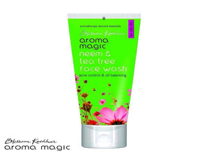 Aroma Magic Neem And Tea Tree Face Wash - 50ml/100ml - Pure Herbal