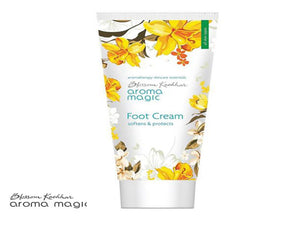 100% Pure Aroma Magic Foot Cream With Non Greasy Formula - 50gms