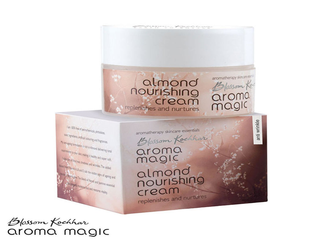 Aroma Magic Almond Nourishing Cream With Spf 15 - 50gm/200gm