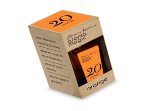Aroma Magic Orange Oil - Refreshes Mood To Infuse Happiness - 20ml
