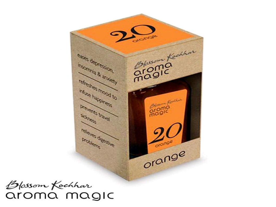 Aroma Magic Orange Oil - Refreshes Mood To Infuse Happiness - 20ml Available