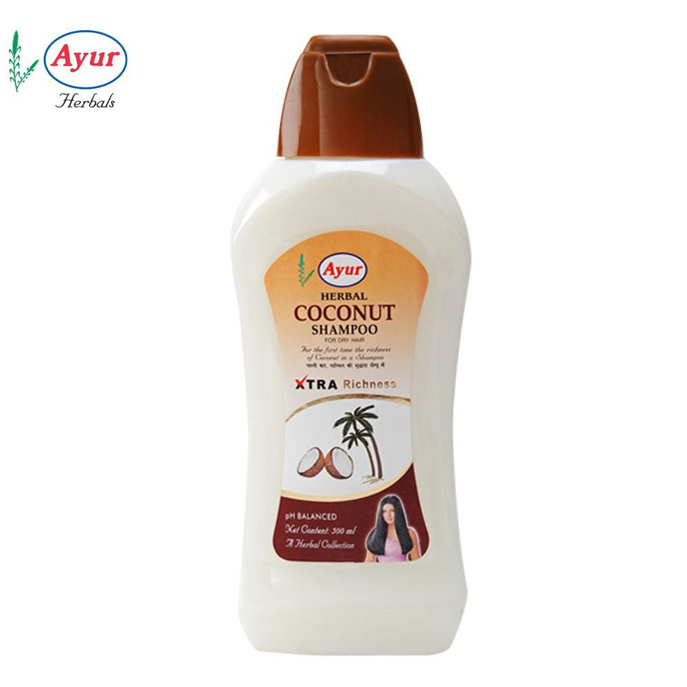 AYUR HERBAL Coconut Shampoo For Woman- 500 Ml