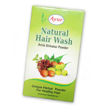 AYUR HERBAL Hair Wash Amla Shikakai Powder- 100/200 Gms