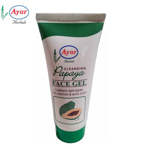 AYUR HERBAL Papaya Face Gel For Unisex - 100Gms