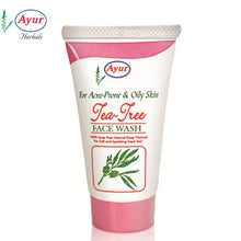 AYUR HERBAL Tea Tree Face Wash For Skin Care - 50ML
