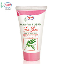 AYUR HERBAL Tea Tree Face Wash For Skin Care -100Gms