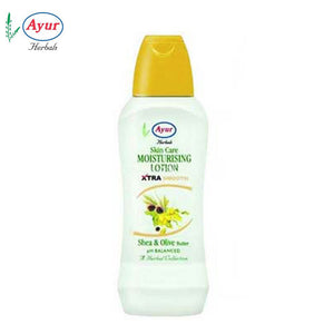 AYUR HERBAL Shea & Olive Butter Moisturising Lotion - 100ml