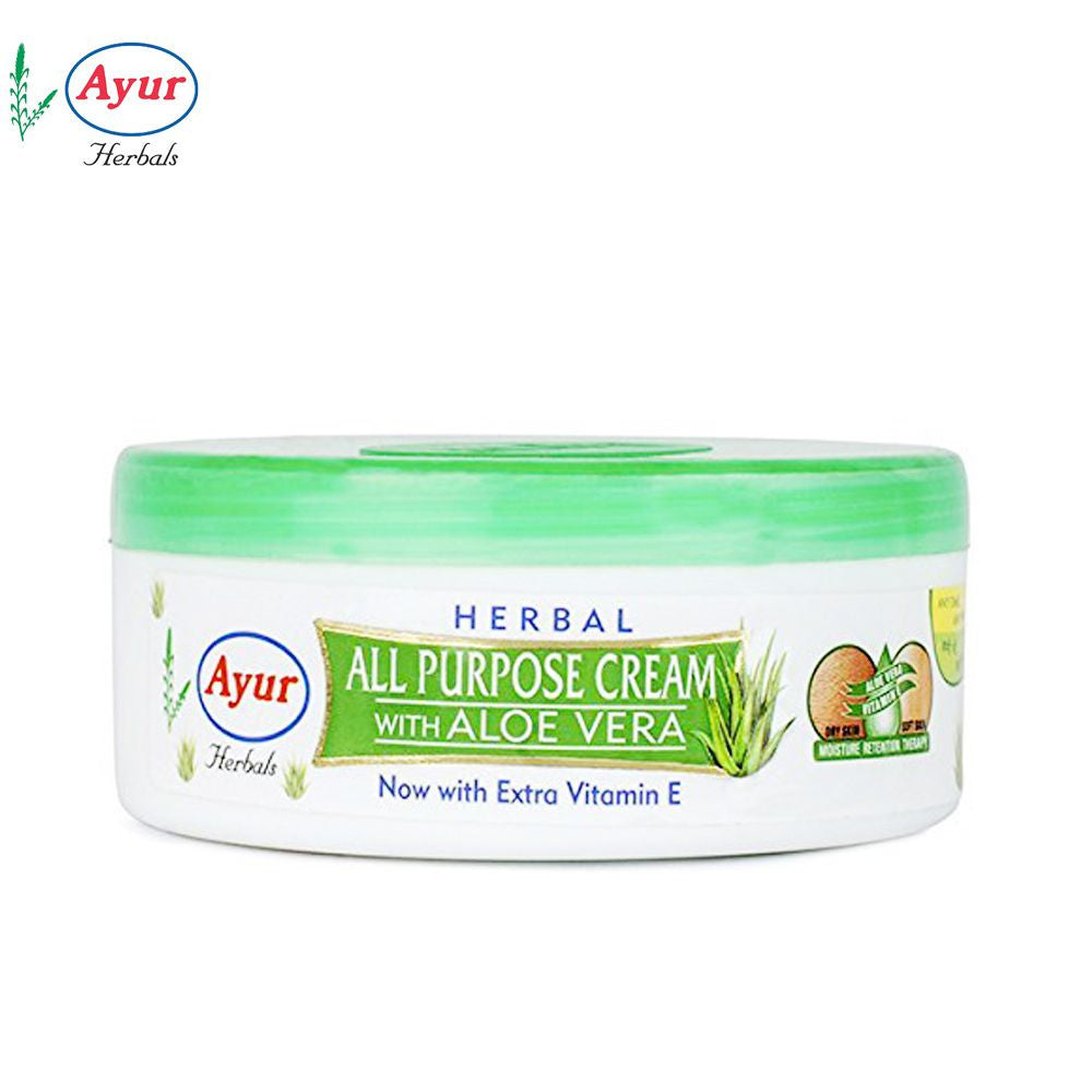 AYUR HERBAL All Purpose Cream With Aloe Vera - 200ml