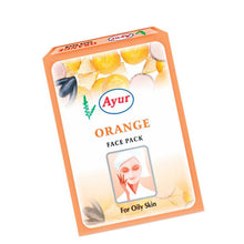 AYUR HERBAL Orange Face Pack For Skin Care - 25Gms