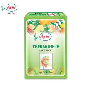 AYUR HERBAL Thermoherb Face Pack For Glowing Skin - 100Gms