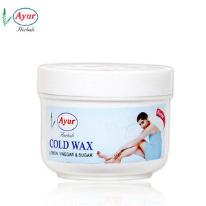 AYUR HERBAL Cold WAX-Makes Skin Delicate, Smooth For Women - 150Gms