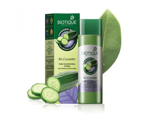 100% Pure Bio Cucumber Pore Tightening Toner With Himalayan Waters - 120ml,800ml