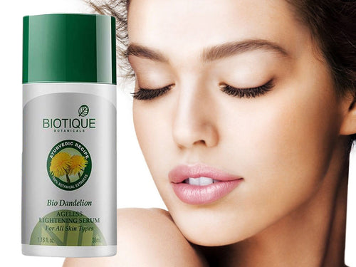 100% Pure Natural Bio Dandelion Ageless Lightening Serum - Fade Dark Spots-35ml,200ml Available