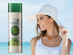 New Bio Morning Nectar 30+ SPF SUNSCREEN Ultra Soothing Face Lotion - 120 ML Available