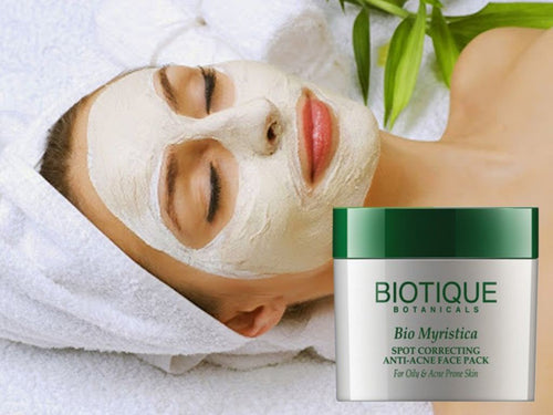 Bio Myristica Spot Correcting Anti-Acne Face Pack For Oily & Acne Prone Skin Available