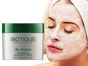 Bio Walnut Purifying&Polishing Scrub-Normal To Dry Skin-50 Gm,175 Gm(Extracts Of Neem) Available