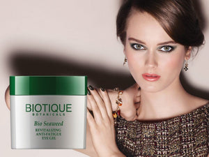 100% Pure Bio Seaweed Anti-Fatigue Eye Gel Prevents Signs Of Stress - 15gm,175 gm Available