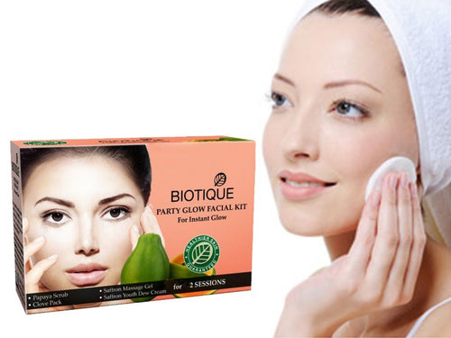 New Bio Party Glow Facial Kit For Instant Glow for Glowing Face - 75 Grams Available
