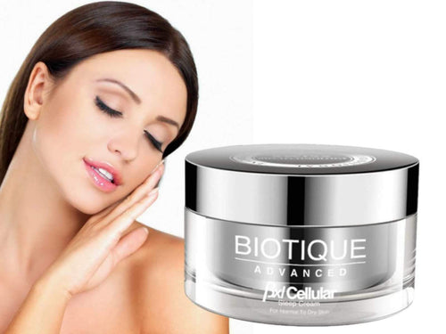 Bxl Cellular Sleep Cream -Reduces Fine Lines & Wrinkles Available
