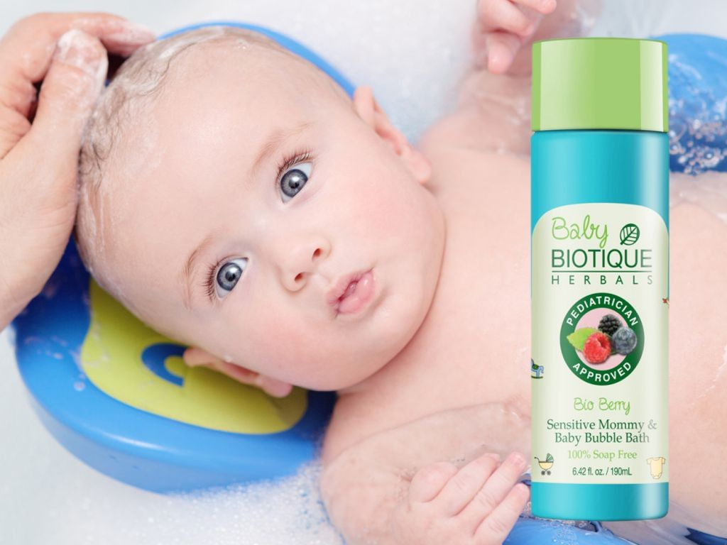 100% Natural Bio Berry -Sensitive Mommy & Baby Bubble Bath - 190ml