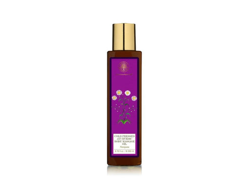 Forest Essential Ayurvedic Natural Body Massage Oil Narayana-Soft & Toned Skin Available