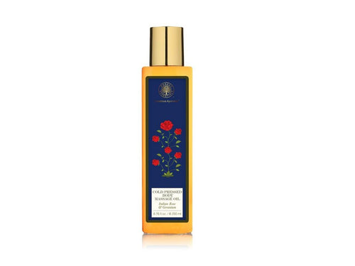 100% Organic Forest Essential Body Massage Oil Indian Rose &Geranium Available