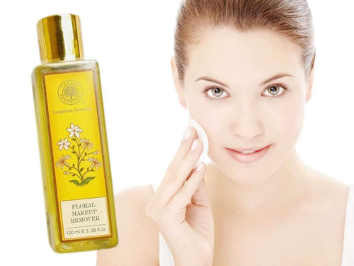 Forest Essentials Floral Make-Up Remover- Removes Without Causing Rashes Available