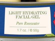 100% Natural Pure Forests Essentials Rosewater Light Hydrating Facial Gel