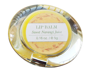 100% Natural Forests Essential Luscious Lip Balm Sweet Narangi Juice