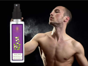 Forests Essential Green Tea & Oudh Body Mist - Leaves The Body Scented-100ml Available