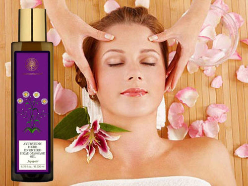 Forests Essential Ayurvedic Herbal Enriched Head Massage Oil Japapatti - 200ml Available